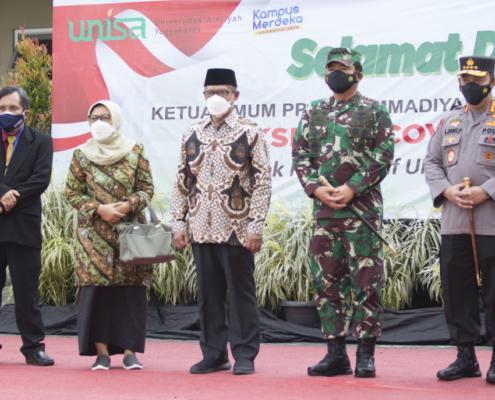 Universitas Aisyiyah Yogyakarta Gelar Vaksinasi Untuk 6500 Orang Kerjasama dengan TNI POLRI