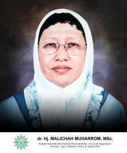 dr. Hj. Malichah Muharrom, M.Sc.