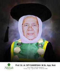 Prof. Dr. dr. Siti Dawiesah, M.Sc., App., Nutr