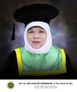 Dra. Hj. Umu Hani Edi Nawangsih, A.Per. Pend., M.Kes.