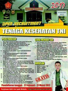 open rekruitment tni