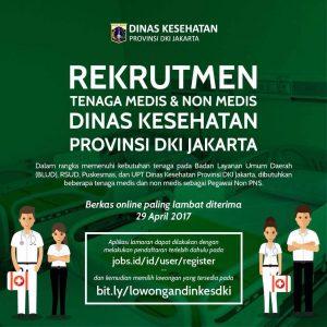 rekruitment tenaga medis DKI jakarta