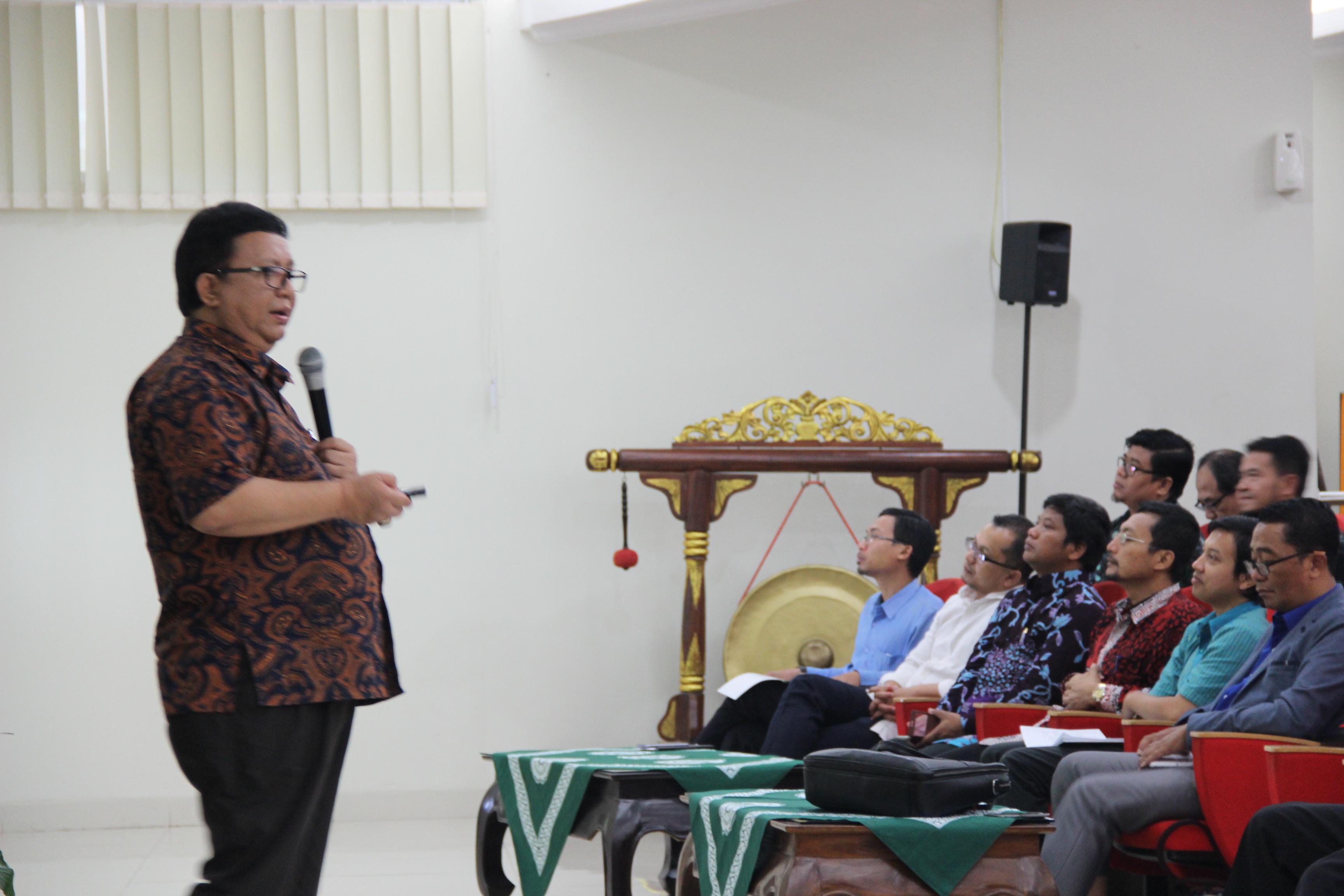 Workshop Internasionalisasi kampus