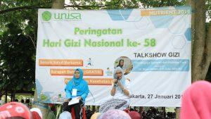 Talkshow Gizi UNISA